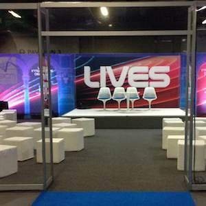 ESICM congress venue interior