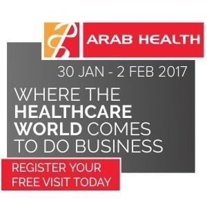 Arab Health Exhibition 2017 in Dubai - Registration