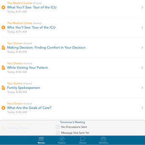 New App: Connecting Family with Loved Ones in ICU