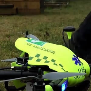 Drones May Improve Response Times for Out-Of-Hospital Cardiac Arrests