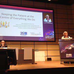 LIVES 2017: The patient is at the centre