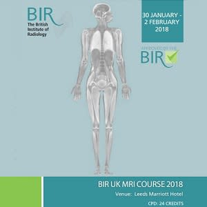 BIR UK MRI Course 2018