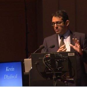 Prof. Kev Dhaliwal speaking at ISICEM 2018