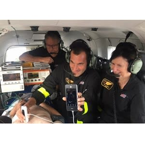 Treating Patients with Handheld Ultrasound at Soaring Heights