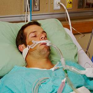 When is mechanical ventilation harmful to the lung?