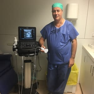 Dr Xavier Sala-Blanch, Hospital Clinic of Barcelona