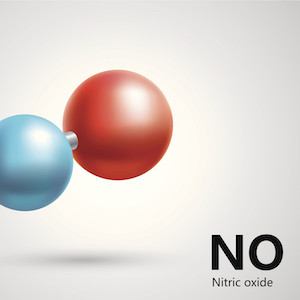Nitric oxide molecules, credit iStock