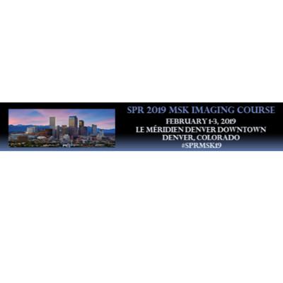 SPR 2019 MSK Imaging Course