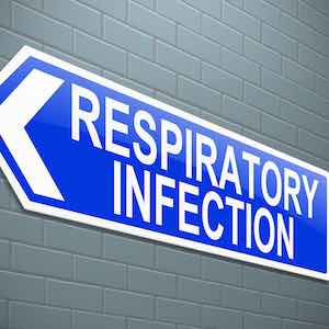Respiratory infection sign, credit iStock