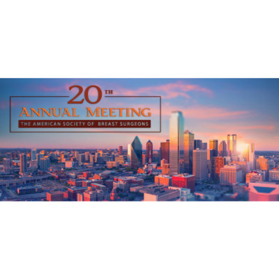 The American Society of Breast Surgeons Annual Meeting 2019