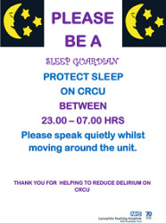 Managing delirium in the ICU with sleep guardians