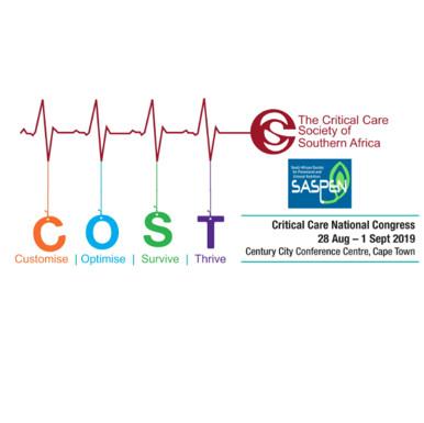 CCSSA/SASPEN Critical Care Congress 2019