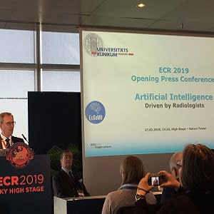 #ECR2019: AI will be driven by radiologists