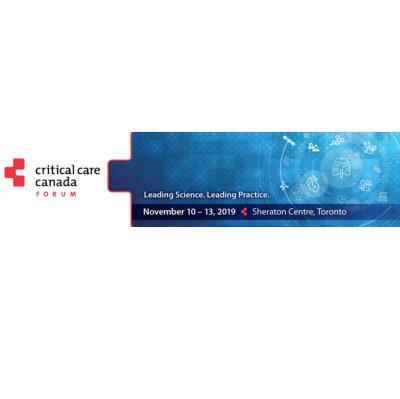 Critical Care Canada Forum 2019