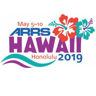 ARRS 2019 - The American Roentgen Ray Society Annual Meeting
