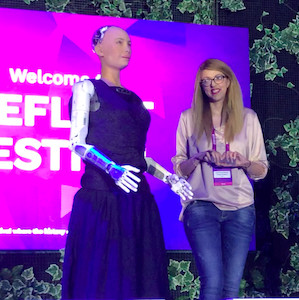 Doctor Sophia the robot will see you now?