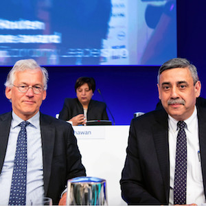 Philips AGM of Shareholders re-appoints CEO Frans van Houten & CFO Abhijit Bhattacharya