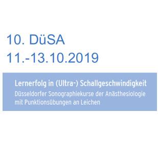DüSA 2019 - 9th Düsseldorf Sonography Course for Anaesthesiology