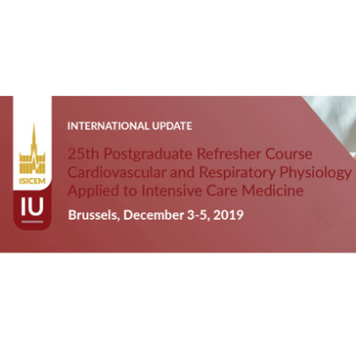 25th Cardiovascular & Respiratory Physiology Postgraduate Refresher Course