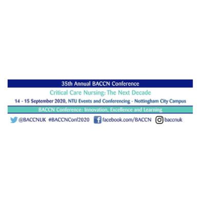 British Association of Critical Care Nurses (BACCN) Conference 2020