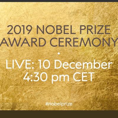 The Nobel Prize Ceremony in Stockholm