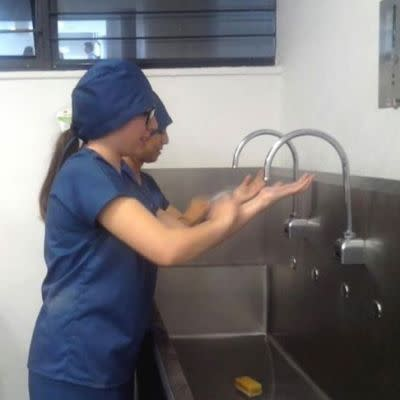 Alcohol-Based Scrubbing: Potential for Savings