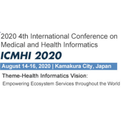 ICMHI 2019 : 4th International Conference on Medical and Health Informatics