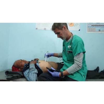 Patient in Nepal