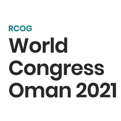 RCOG World Congress 2021 - Royal College of Obstetricians and Gynaecologists
