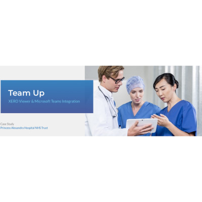 AGFA Healthcare - Team Up XERO Viewer & Microsoft Teams Integration