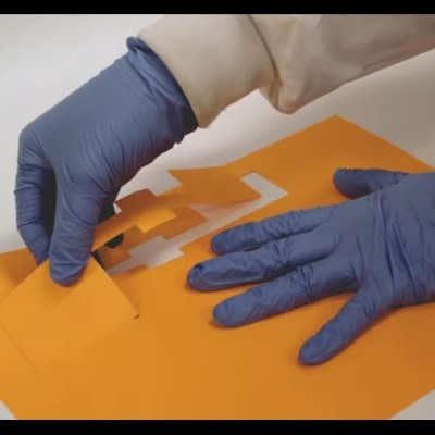 Sealing Internal Injuries with Origami-like Patch