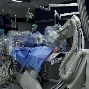 Robotic Technology in a Cath Lab