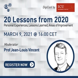 20 Lessons from 2020 – Join the Live Discussion