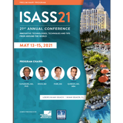 International Society For The Advancement of Spine Surgery Conference - ISASS 2021