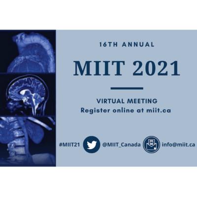 Medical Imaging Informatics and Teleradiology (MIIT) 2021