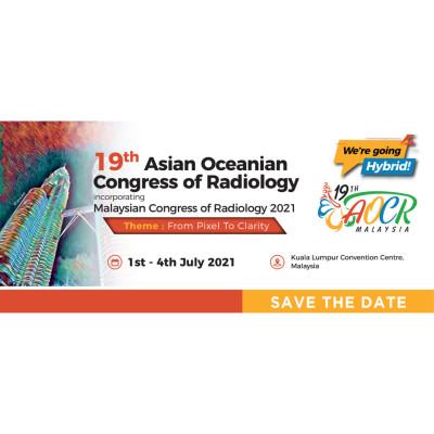 19th Asian Oceanian Congress Of Radiology 2021