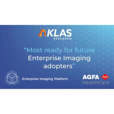 Agfa Healthcare看到最满意的上场验证:KLAS Enterprise Imaging Performance www.vwin5.comReport