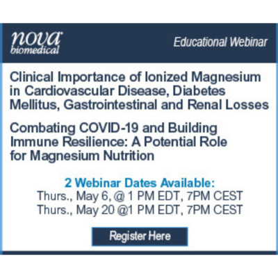 Clinical Importance and Biochemical Role of iMg in Cardiovascular Disease, Diabetes, and COVID-19