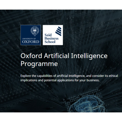Oxford Artificial Intelligence Programme