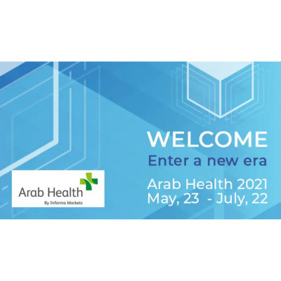 Welcome to Arab Health 2021. Let's reconnect