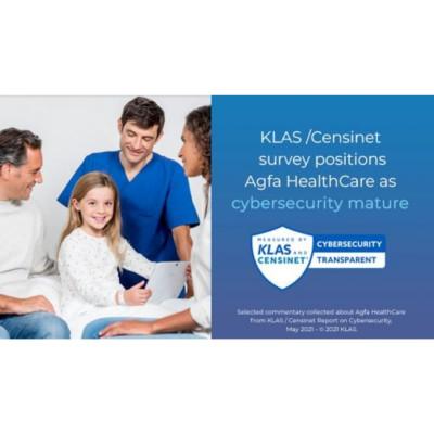 KLAS/Censinet survey positions Agfa Healthcare as cybersecurity mature