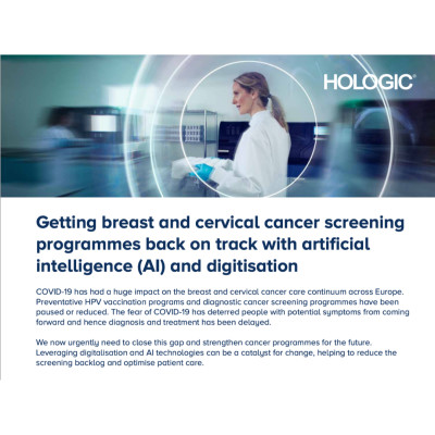 Getting Cancer Screening Programmes Back on Track with AI and Digitisation