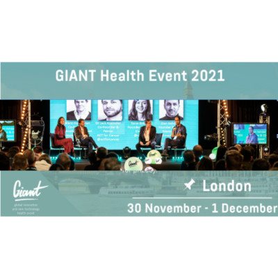 The GIANT Health Event 2021. Early bird tickets on sale now