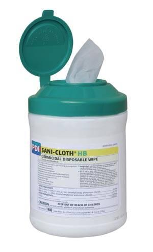 PDI SANI-CLOTH® HB GERMICIDAL DISPOSABLE WIPE