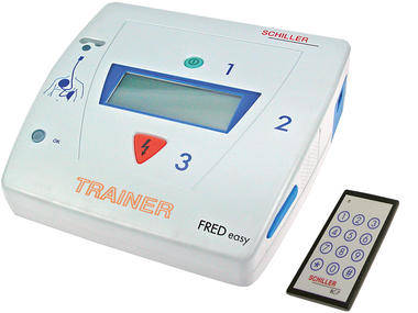External defibrillators FRED easy Trainer SCHILLER