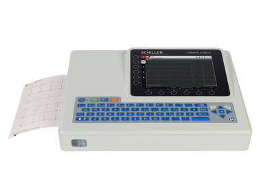 Digital electrocardiograph / 12-channel / touch function keys CARDIOVIT AT-102 G2 SCHILLER