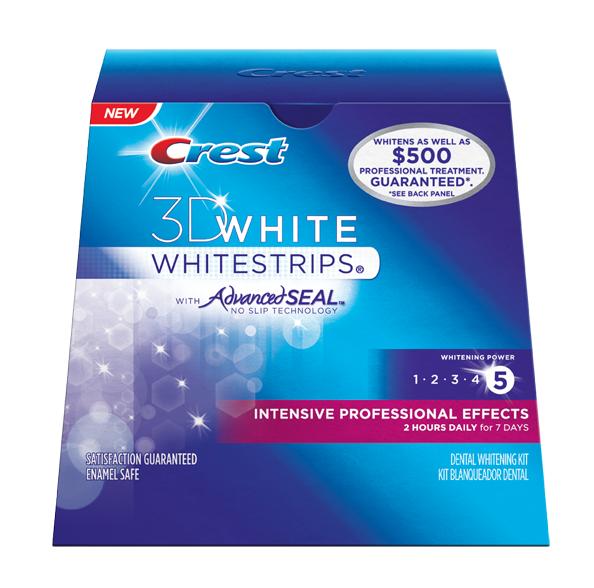 Crest 3D White Intensive Professional Effects   CrestWhiteStripsWholesale.com