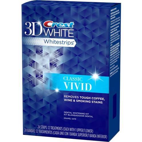 Crest Classic Vivid Whitening Strips   CrestWhiteStripsWholesale.com
