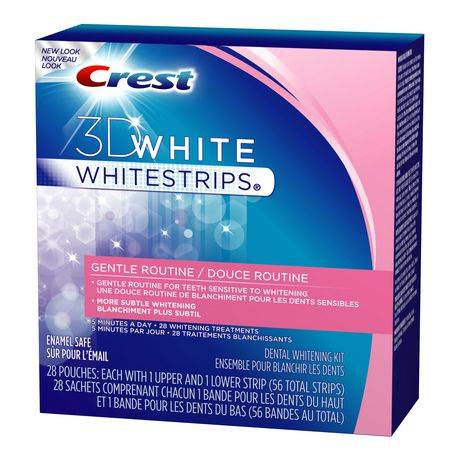 Crest Gentle Routine Whitening Strips   CrestWhiteStripsWholesale.com