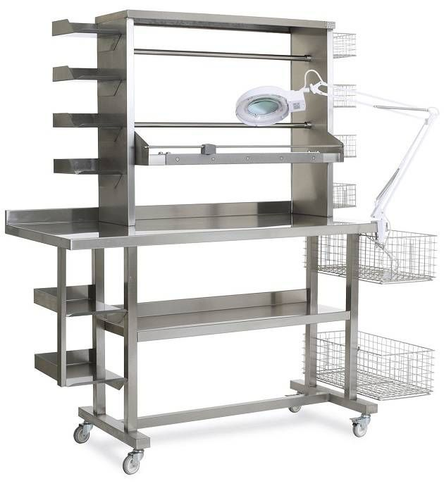 PLUSHINE SERIES STAINLESS HOSPITAL EQUIPMENT & SYSTEM ACCESSORIES